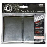 PRO-Matte Eclipse Standard Sleeves: Jet Black (100)