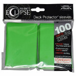 PRO-Matte Eclipse Standard Sleeves: Lime Green (100)