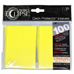 PRO-Matte Eclipse Standard Sleeves: Lemon Yellow (100)