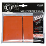 PRO-Matte Eclipse Standard Sleeves: Pumpkin Orange (100)