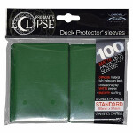 PRO-Matte Eclipse Standard Sleeves: Forest Green (100)