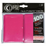 PRO-Matte Eclipse Standard Sleeves: Hot Pink (100)