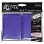 PRO-Matte Eclipse Standard Sleeves: Royal Purple (100)