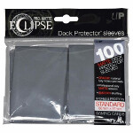 PRO-Matte Eclipse Standard Sleeves: Smoke Grey (100)