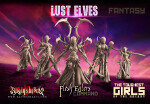Lust Elves Flesh Eaters - Command Group (F)