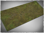 Mousepad games mat, size 3x6, Muddy Fields theme