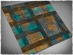 Mousepad games mat, size 4x4, Night Cityscape theme