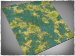 Mousepad games mat, size 4x4, Tropical Swamp theme
