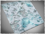 Mousepad games mat, size 3x3, Frostgrave theme (with Malifaux zones)