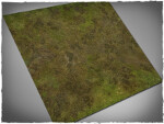 Mousepad games mat, size 3x3, Muddy Fields theme