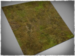 Mousepad games mat, size 3x3, Muddy Fields theme (with Malifaux zones)