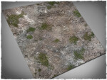 Mousepad games mat, size 3x3, Medieval Ruins theme