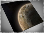 Mousepad games mat, size 3x3, Dunes Planet theme
