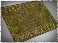 Mousepad games mat, Fantasy Football - Muddy Fields theme