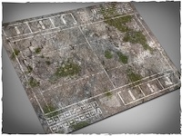 Mousepad games mat, Fantasy Football - Medieval Ruins theme