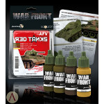 Colors for AFV - Red Tanks Paint Set
