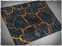 Mousepad games mat, Fantasy Football - Inferno theme