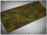 Mousepad games mat, size 3x6, Swamp theme