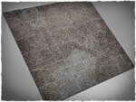 Mousepad games mat, size 3x3, Cobblestone theme (with Malifaux zones)