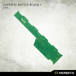 Imperial Battle Ruler 9inch [green] (1)