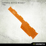 Imperial Battle Ruler 9inch [orange] (1)