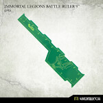 Immortal Legions Battle Ruler 9inch [green] (1)