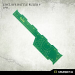 Enclave Battle Ruler 9inch [green] (1)