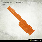Enclave Battle Ruler 9inch [orange] (1)