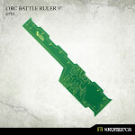 Orc Battle Ruler 9inch [green] (1)