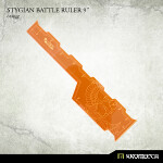 Stygian Battle Ruler 9inch [orange] (1)