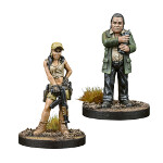 The Walking Dead: Rosita and Eugene Booster