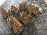 Medieval Houses and Bridge Set