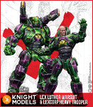Lex Luthor Warsuit and Lexcorp Heavy Trooper