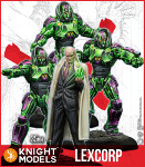 Lex Luthor and Lexcorp Troopers