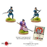 Test of Honour: Onna-bugeisha with Naginata
