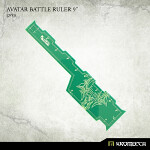 Avatar Battle Ruler 9inch [green] (1)