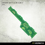Swarm Battle Ruler 9inch [green] (1)