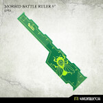 Morbid Battle Ruler 9inch [green] (1)