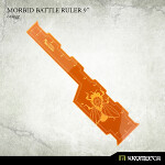 Morbid Battle Ruler 9inch [orange] (1)