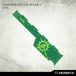 Hammer Battle Ruler 9inch [green] (1)