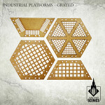 Industrial Platforms - Grated
