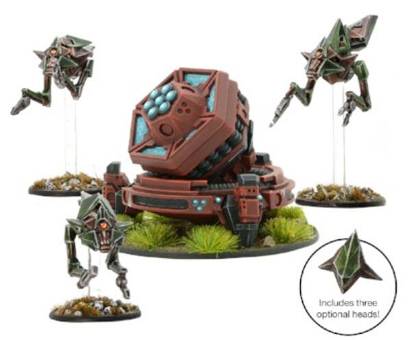 Dark Sphere - Virai Dronescourge Deep Mining Team with Fractal