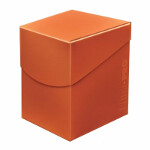 Eclipse PRO 100+ Deck Box: Pumpkin Orange