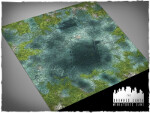 Mousepad games mat, size 3x3, Drowned Earth theme