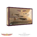 British Hawker Hurricane Squadron