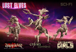 Lust Elves Centaurs - Command Group (SF)