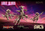 Lust Elves Centaurs - Troops (SF)