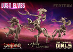 Lust Elves Centaurs - Command Group (F)