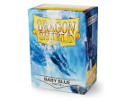 Dragon Shield 100 Box - Matte Baby Blue