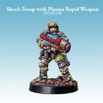 Shock Troop with Plasma Rapid Weapon